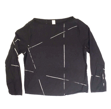 Uzi NYC Beams Long Sleeve Tee
