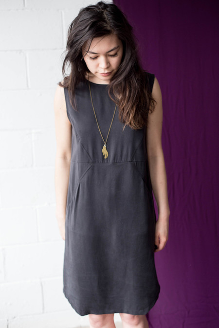 Eve Gravel Black Mountain Dress