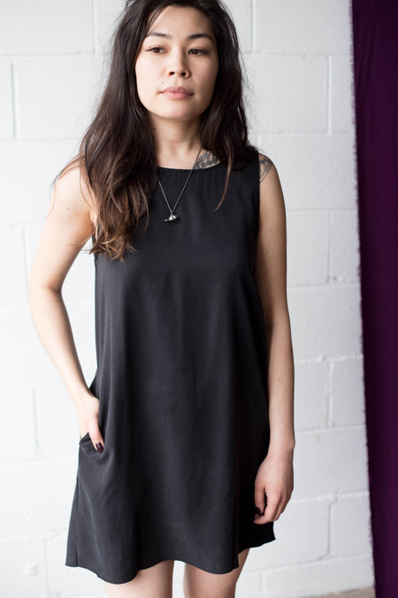 We Are Stories Foxglove Dress (Black)