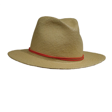 Yestadt Millinery NOMAD PACKABLE FEDORA TAN