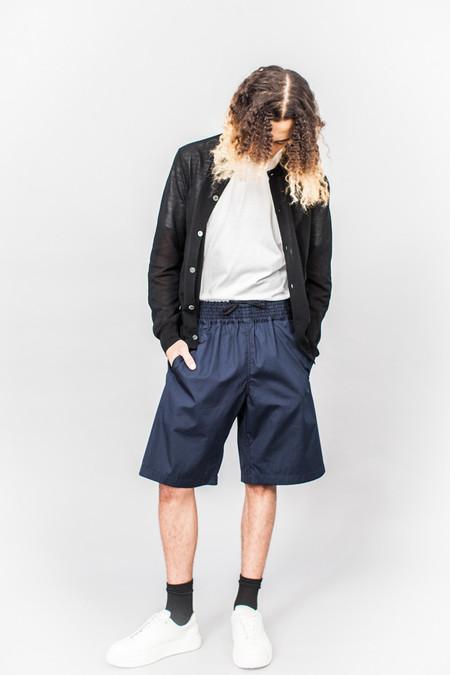 Comme Des Garçons SHIRT Fine Knit Roundneck Cardigan Black