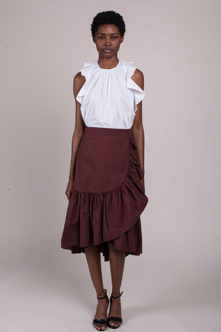 Camilla Skirt - Raisin