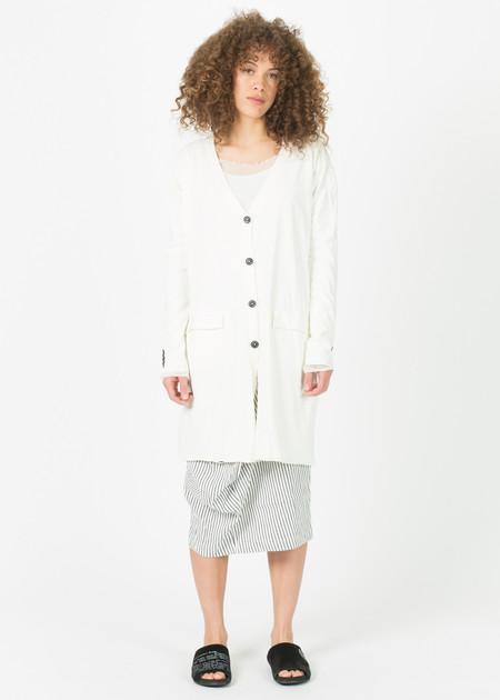 Rundholz Back-Zip Jersey Coat