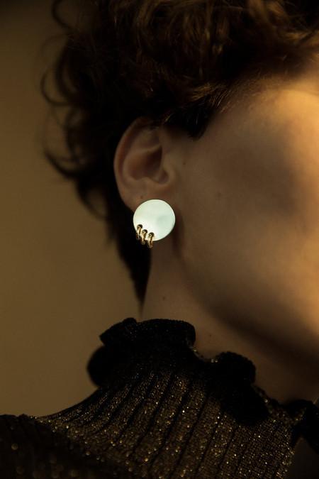 Sorelle Silver Luna Earrings