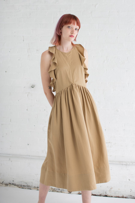 Ulla Johnson Cecily Dress in Khaki