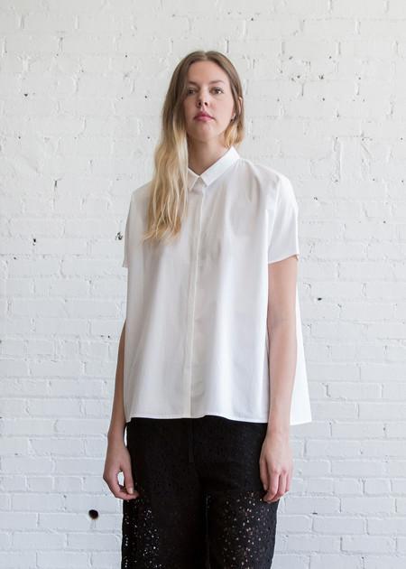 6397 Trapeze Shirt White