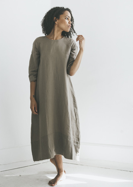 Zii Ropa Cid Dress in Natural