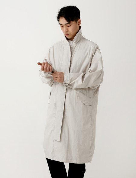 Lemaire Parka Light Grey
