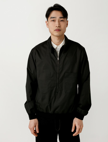 Lemaire Shirt Blouson Black