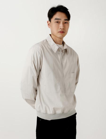 Lemaire Shirt Blouson Light Grey