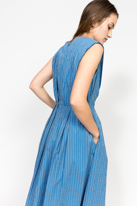 Trademark Shadow Stripe Tie Dress