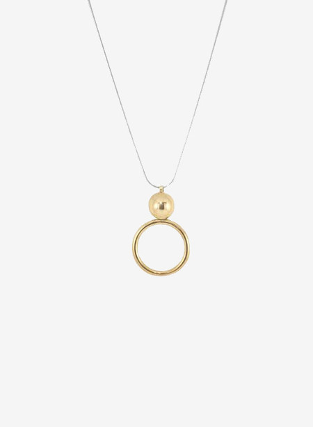 Young Frankk Circle Orb Necklace