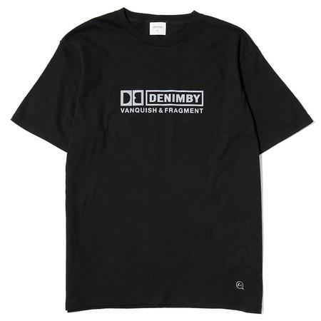 DENIM BY VANQUISH & FRAGMENT CREW NECK T-SHIRT 3 - BLACK