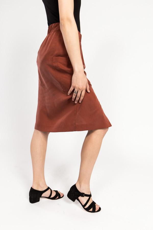 C. Keller Slit Skirt