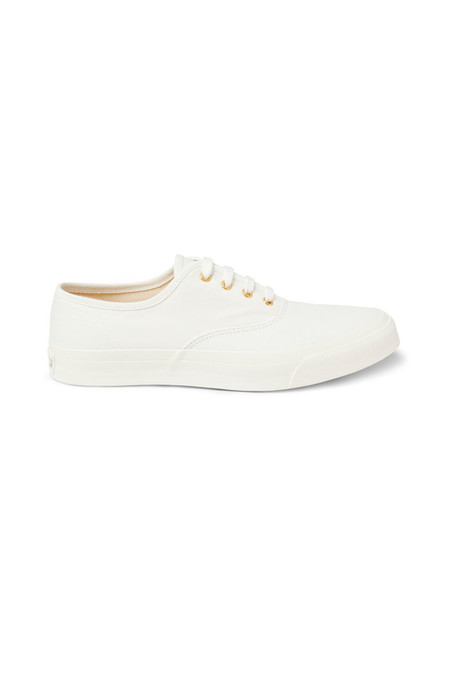 Maison Kitsune Canvas Sneakers - White