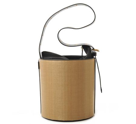 Vasic Jane Grommet Bucket Bag