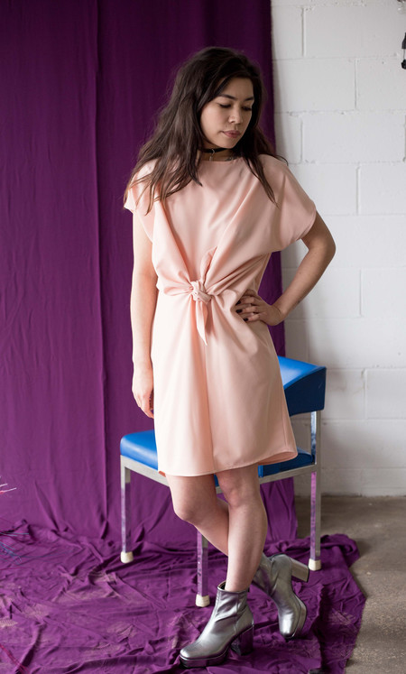Noémiah Alice Dress (Peach)