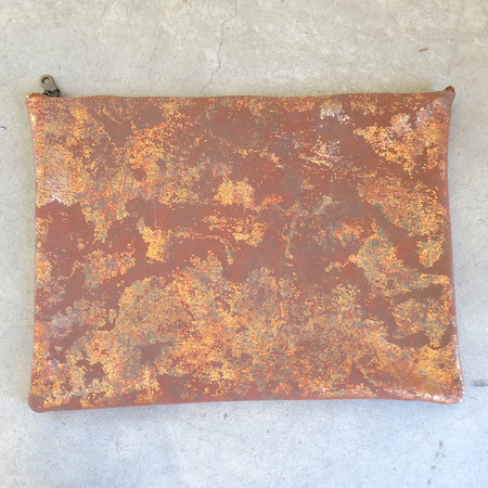 Tracey Tanner Large Foldover in Copper Oxide