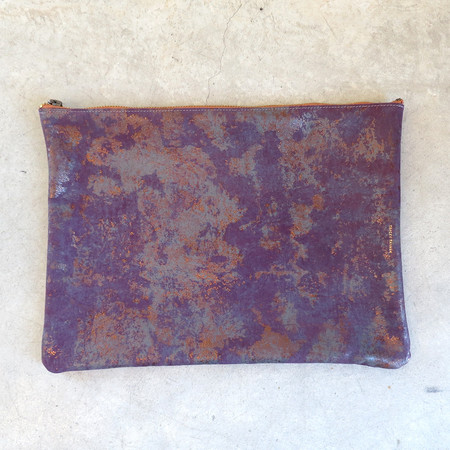 Tracey Tanner Large Foldover in Rust Oxide