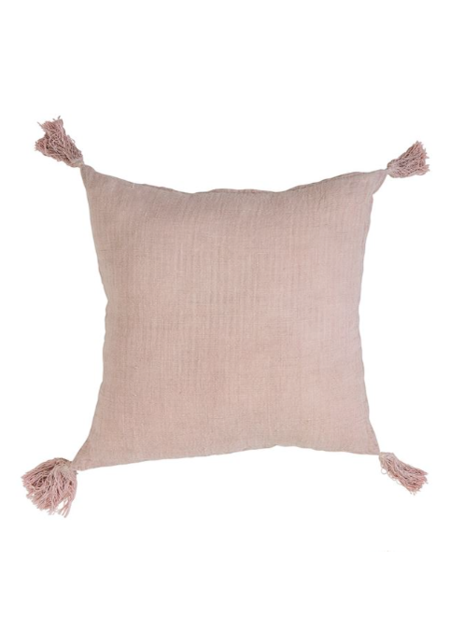 Sunday Supply Co. Rose Tassel Pillow