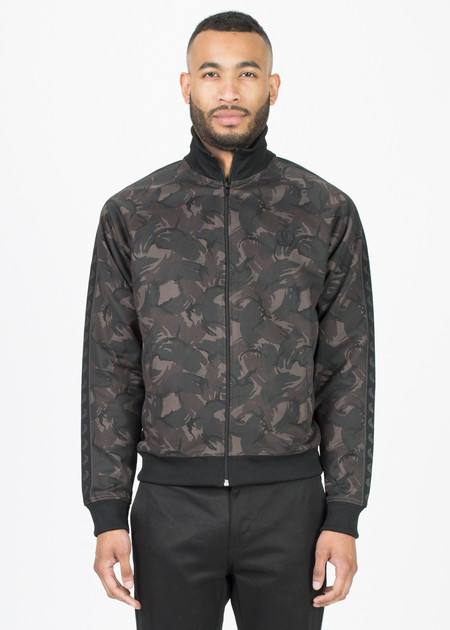 Fred Perry Camo Print Track Jacket