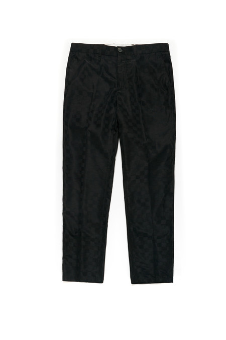 Wonders Wave Grid Jacquard Trouser