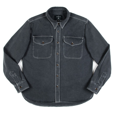 Freenote Cloth Freenote Utility Shirt - Charcoal