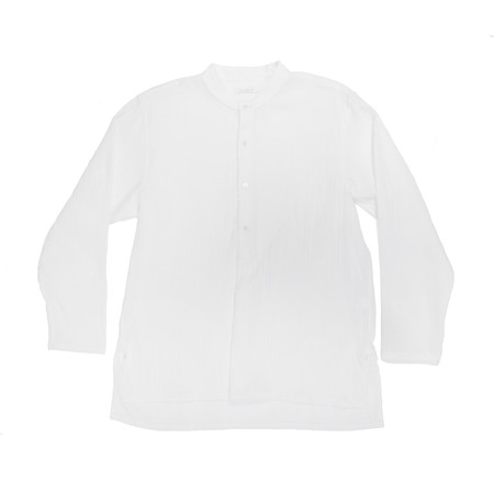 s.k. manor hill Safari Shirt - White Organic Cotton