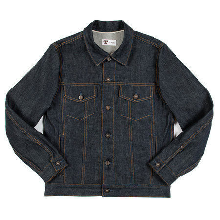 Tellason Jean Jacket - 12.5 ounce Raw Cone Denim