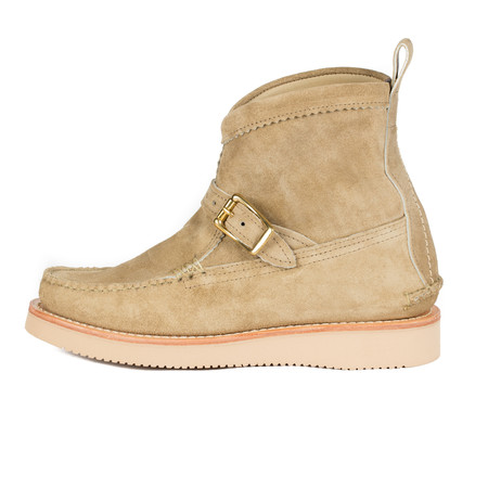 Yuketen Short Pull-On Boot - Flesh Out Khaki