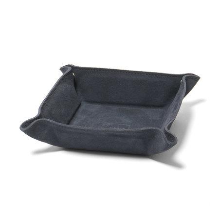 Maple Desk Tray (Suede) - Navy