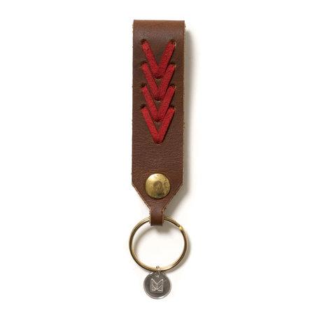 Maple Jobber Key Ring - Brown