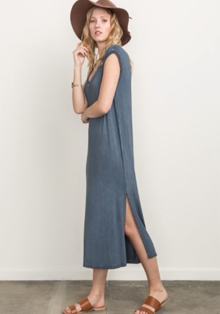 Sunday Supply Co. Indigo Dyed Maxi