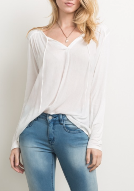 Sunday Supply Co. Pleat Top