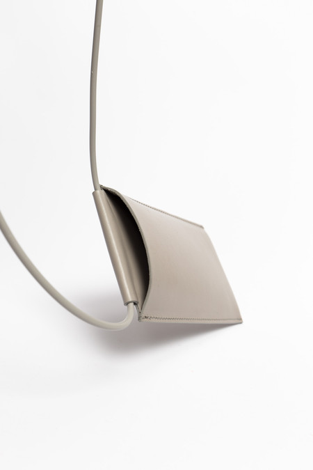 Building Block Iphone Sling in Concrete