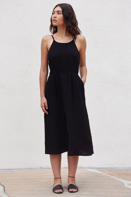 First Rite Camisole Dress Black