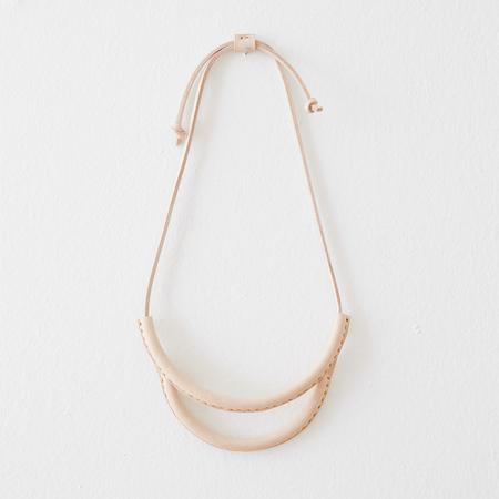 Crescioni arc necklace