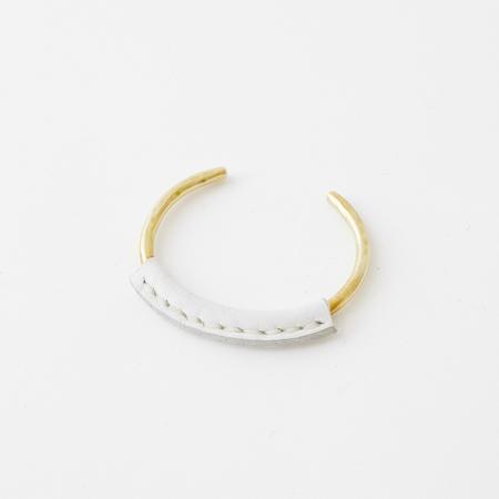 Crescioni kiva bracelet white