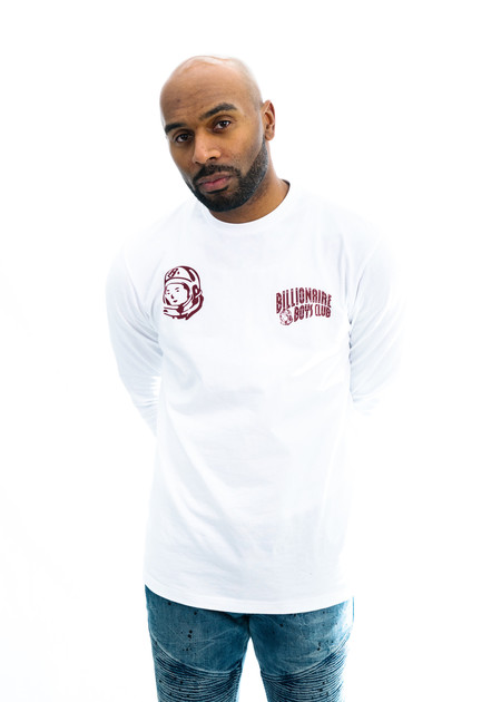 Billionaire Boys Club BB Hunter L/S Knit (White)