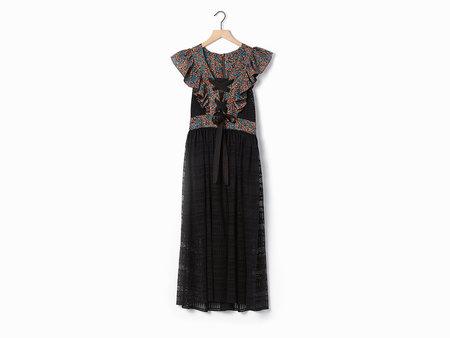 Philosophy di Lorenzo Serafini Lace Up Dress