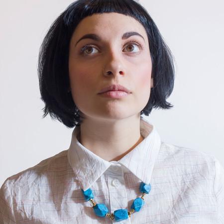 Marijke Bouchier Faux Turquoise Necklace