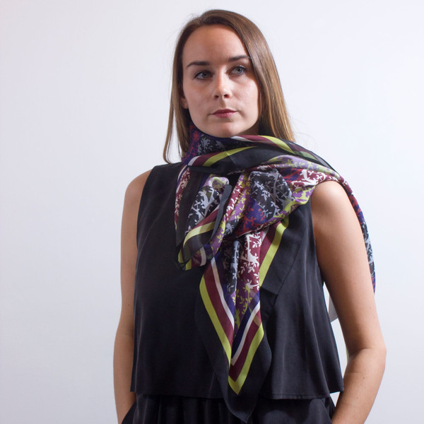 Anu Raina -  'Olive Tree Scarf'