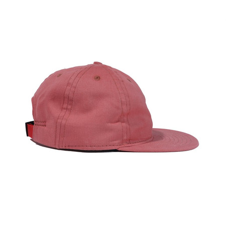 Animal Traffic Beach Red Brushed Twill Ball Cap