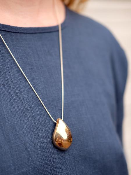 Uni Jewelry OSTARA NECKLACE IN CAST BRONZE