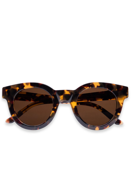 Sun Buddies Acetate Edie Sunglasses - Amber