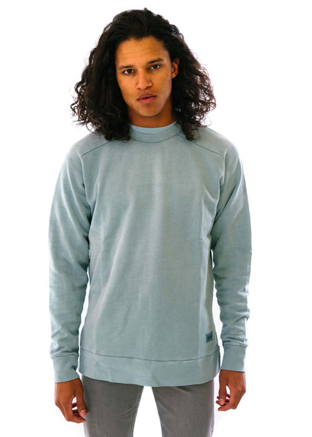 Zanerobe Flintlock Crew Sweat - Pigment Teal
