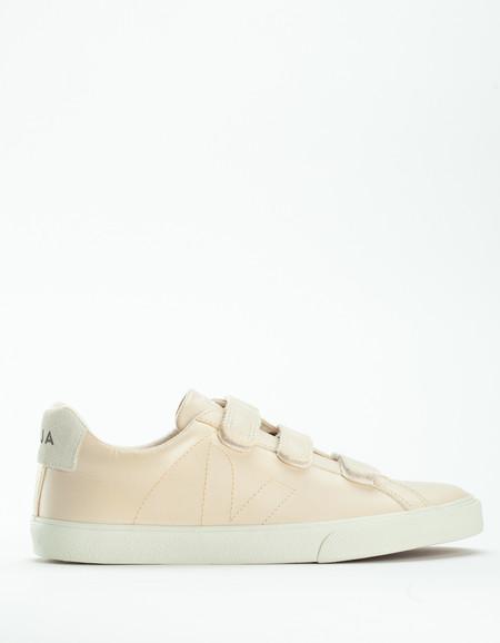 Veja Esplar 3 Locks Leather Sneaker Sable Pierre
