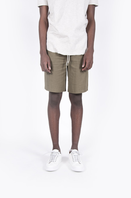 Aimé Leon Dore Cotton Basketball Shorts Olive