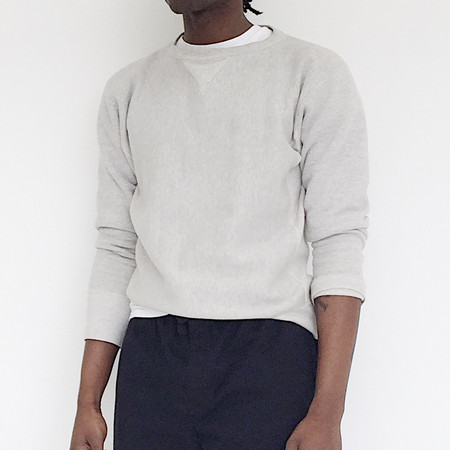 Johan Vintage Heather Grey Pullover Sweatshirt