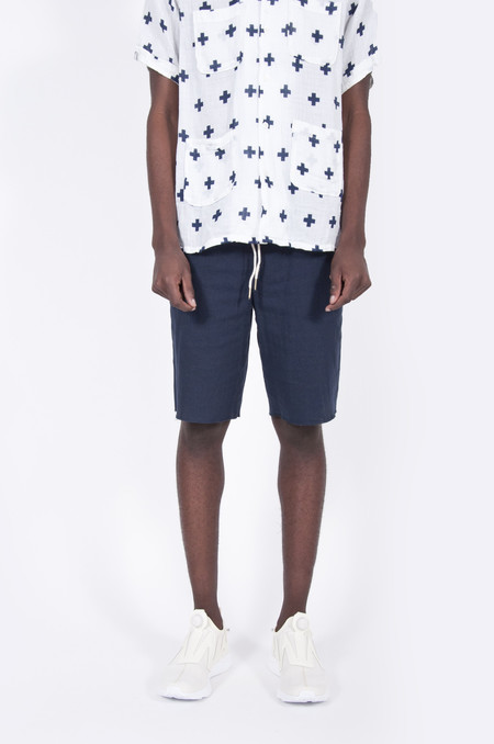 Aimé Leon Dore Cotton Basketball Shorts Navy